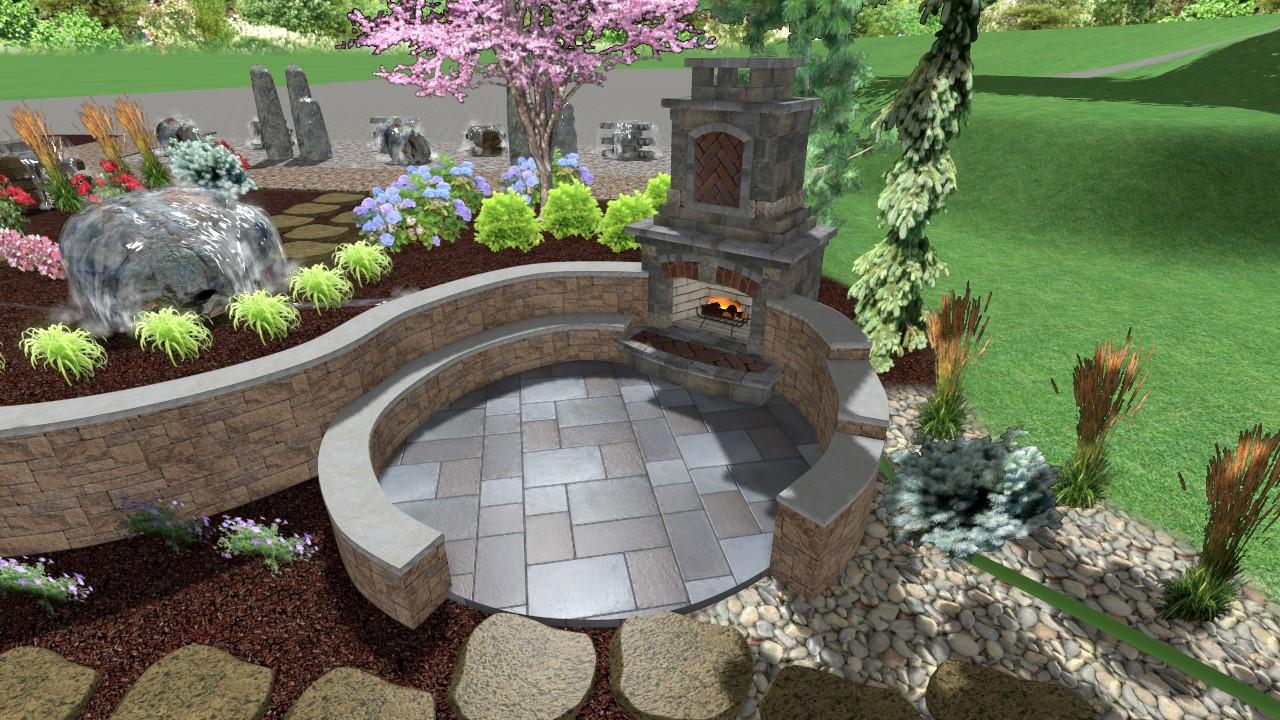 3d landscape design brings your ideas to life innovative for Landscape design omaha
