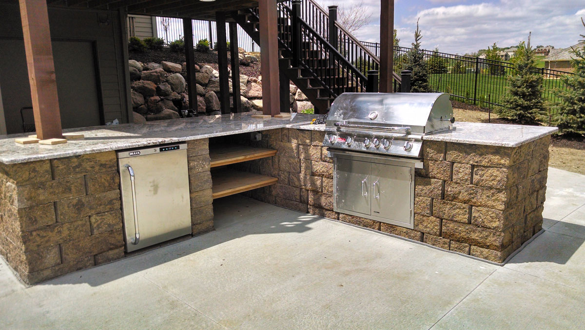 outdoor grilling oasis innovative outdoors omaha